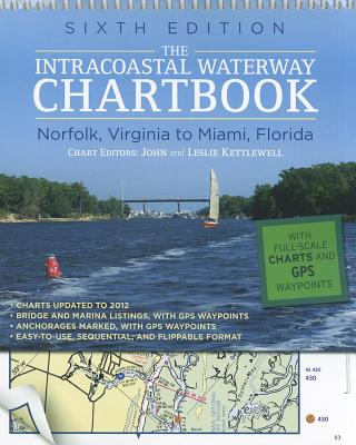 Intracoastal Waterway Chartbook Norfolk to Miami By Kettlewell, John/ Kettlewell, Leslie